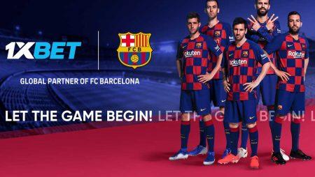 1XBet postaje novi globalni partner FC Barcelone