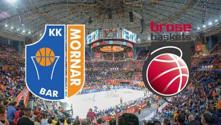 Mornar Bar – Bamberg: Prognoza utakmice (utorak 14.1.2020)