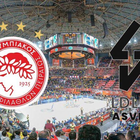Olympiakos – ASVEL: Prognoza (četvrtak 20.2.2020)