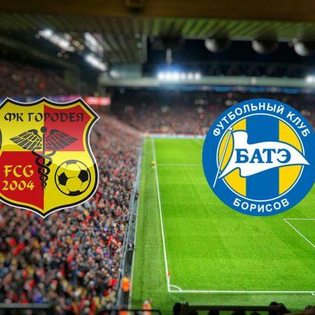 FK Gorodeya– BATE Borisov: Prognoza (subota 25.04.2020)