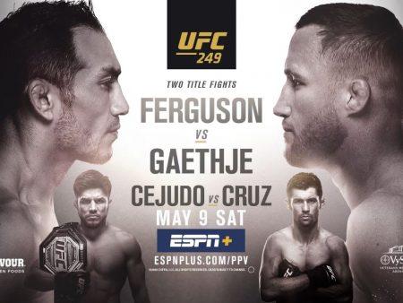 Najava: UFC 249: Tony Ferguson – Justin Gaethje