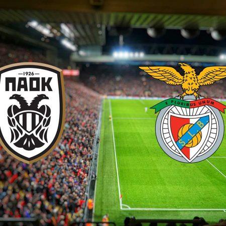 Tip dana: PAOK – Benfica (utorak 15.09.2020)