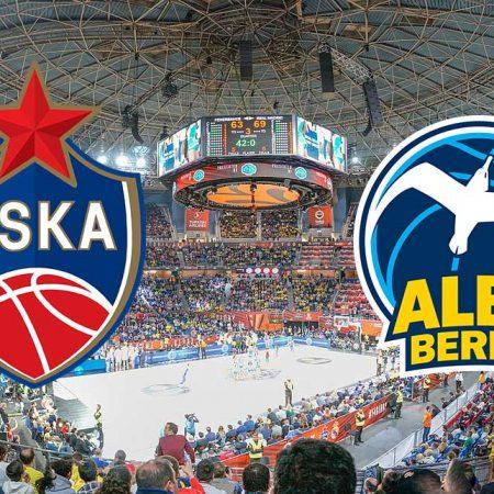 Prognoza: CSKA Moscow – Alba Berlin (petak 16.10.2020)