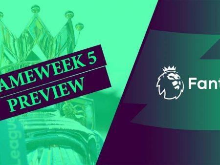 Fantasy Premier League – najava petog kola