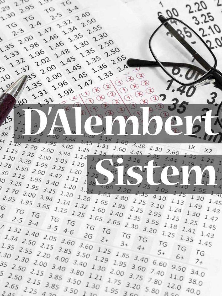 D'Alembert sistem za klađenje – Siguran sistem, ili još jedna prevara?