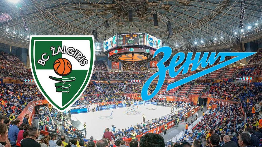 Prognoza: Zalgiris Kaunas – Zenit (četvrtak 26.11.2020)