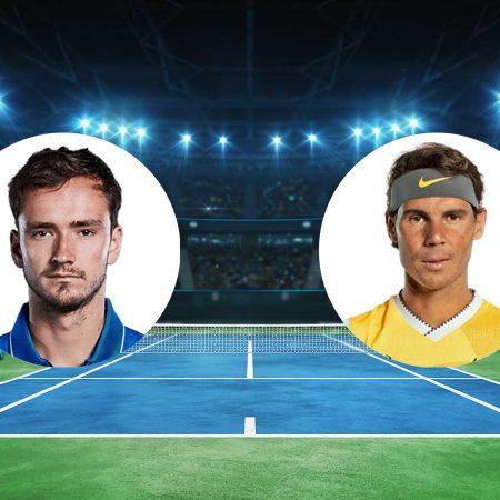 Prognoza: D. Medvedev – R. Nadal (subota 21.11.2020)