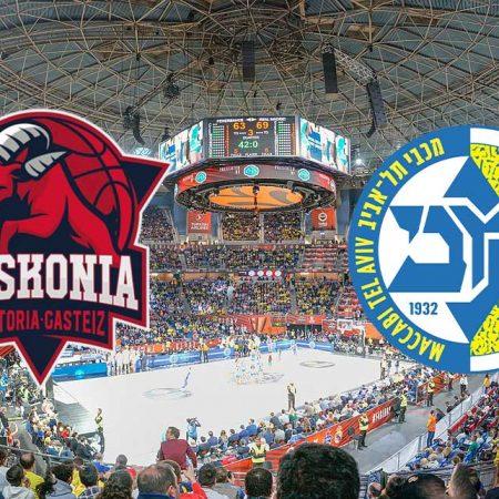 Prognoza: Baskonia – Maccabi TA (četvrtak 10.12.2020)