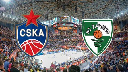 Prognoza: CSKA Moscow – Zalgiris Kaunas (srijeda 13.01.2021)