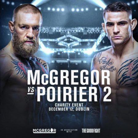 Najava: UFC 257 Poirer vs McGregor 2