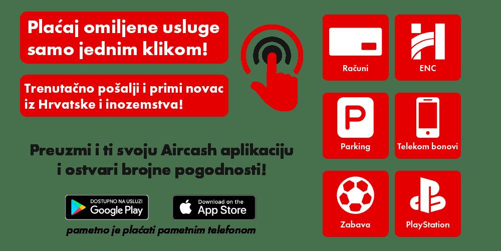 aircash hrvatska