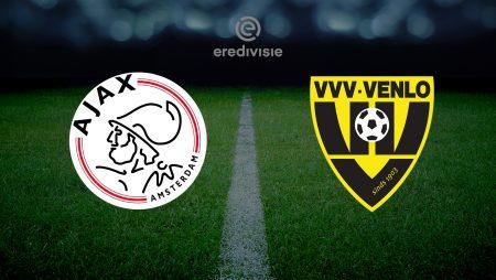 Prognoza: Ajax vs VVV Venlo (četvrtak, 14:30)