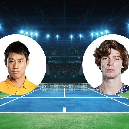 Prognoza: Kei Nishikori vs Andrey Rublev (Nedjelja, 04:00)