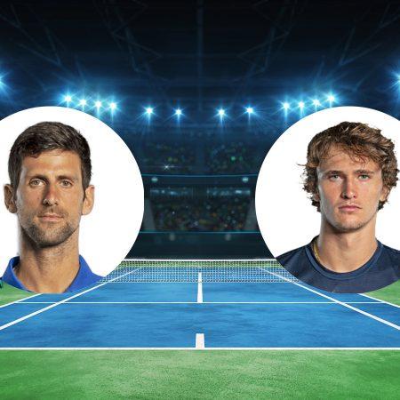 Prognoza: Novak Djoković vs Alexander Zverev (Subota, 01:00)