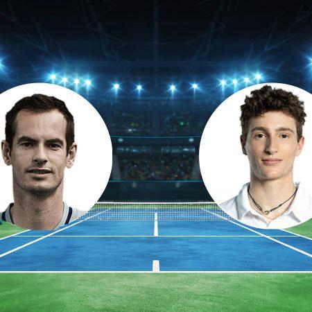 Prognoza: Andy Murray vs Ugo Humbert (Utorak, 18:00)