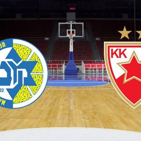 Prognoza: Maccabi Tel Aviv vs Crvena zvezda (Četvrtak, 20:05)