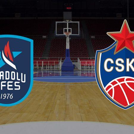 Prognoza: Anadolu Efes vs CSKA Moscow (petak, 19:30)