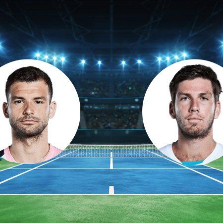 Prognoza: Grigor Dimitrov vs Cameron Norrie (subota, 22:30)